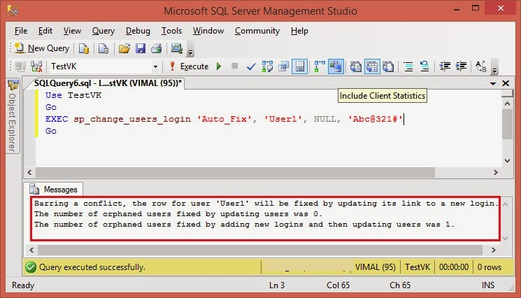 SQL/NoSQL Public Diary: How to Find and Fix Orphaned Users