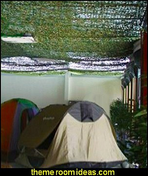 Camouflage Netting Military Camo military bedroom decorating ideas
