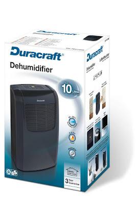 Duracraft DD-TEC10NE noir/gris