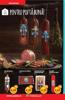 catalog penny 9 - 15 ianuarie 2019 reduceri mezeluri de porc