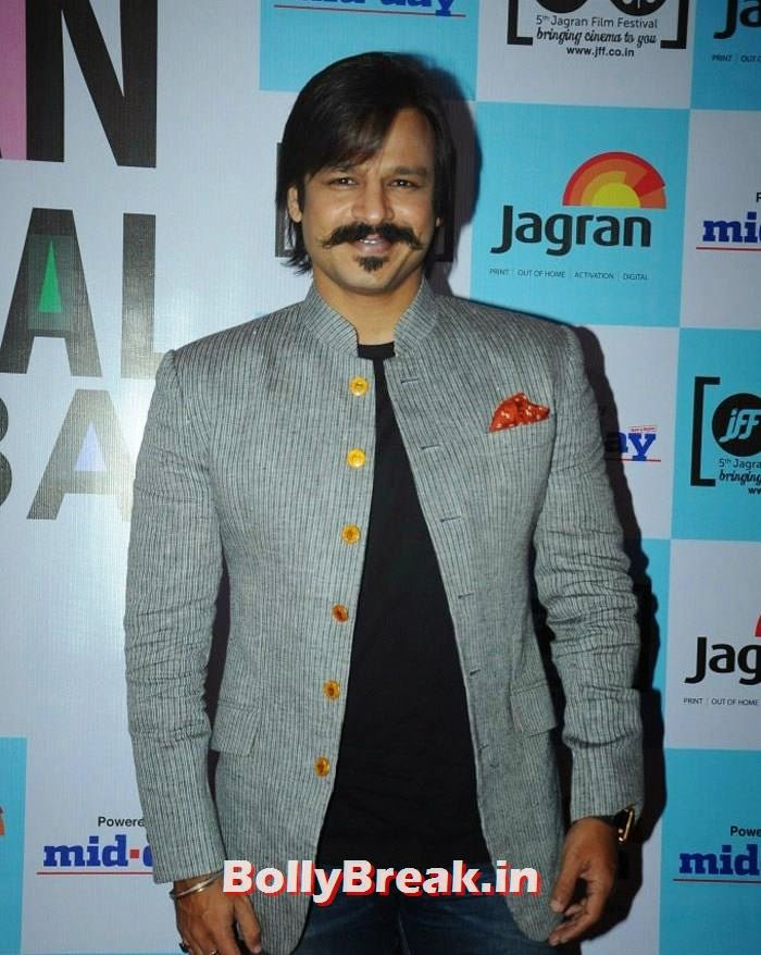 Vivek Oberoi, 5th Jagran Film Festival Red Carpet Pics