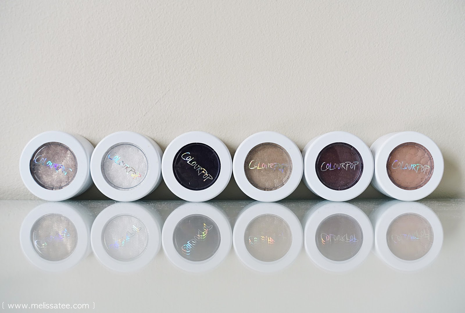 ColourPop Cosmetics, ColourPop, ColorPop, Colour Pop, Eyeshadows, Colourpop eyeshadow swatches