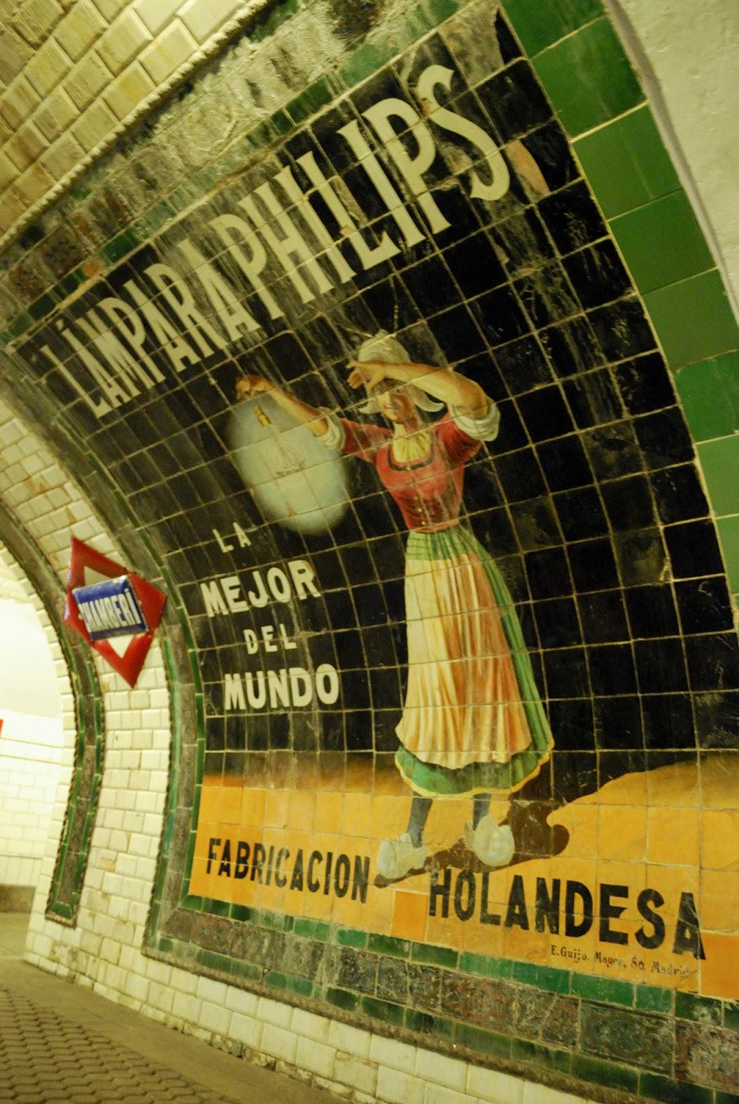 platform 0 chamberi ghost museum metro station madrid