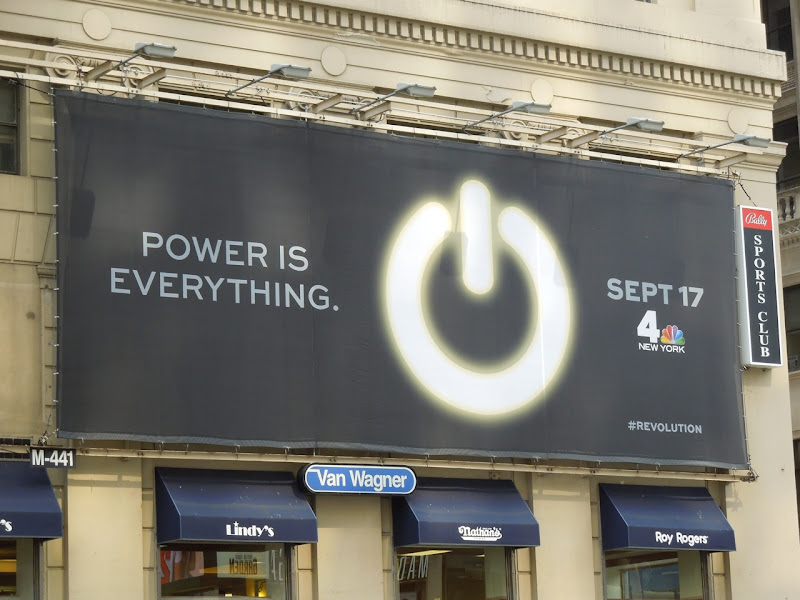 Revolution teaser billboard NYC