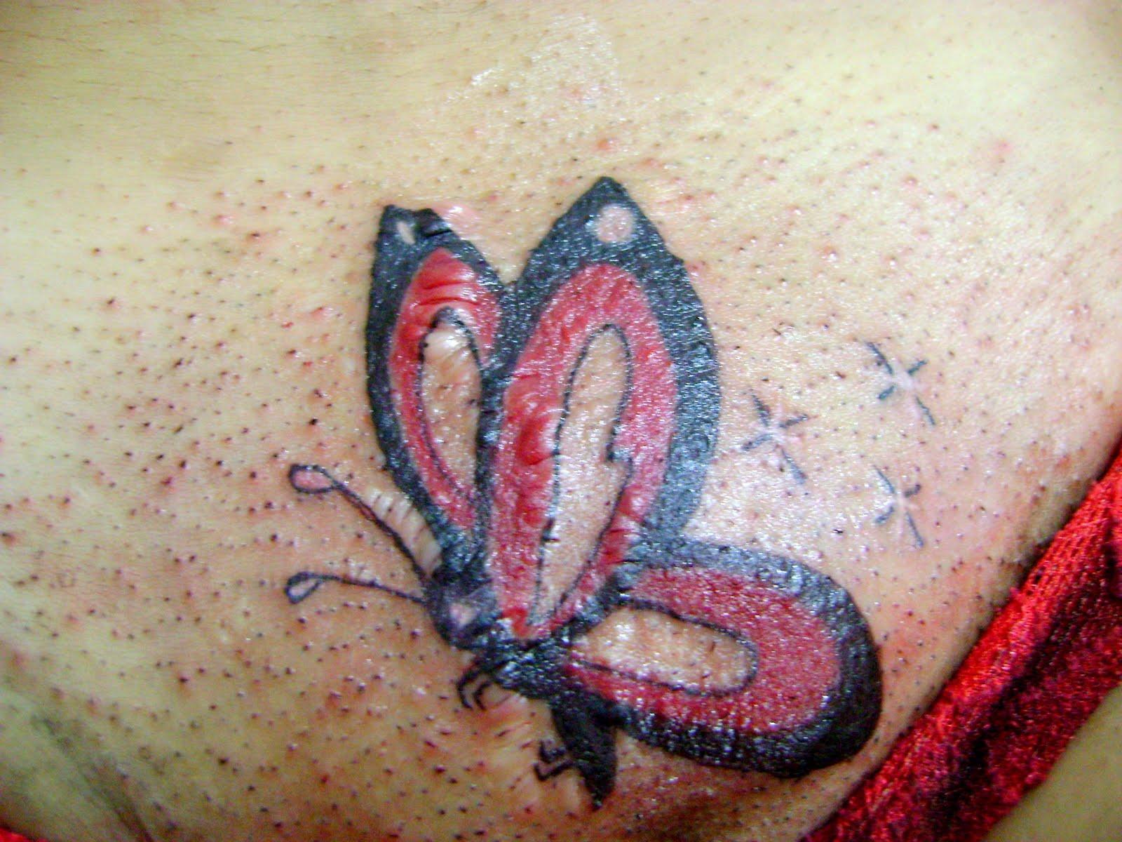 Татуировки на интимныз местах