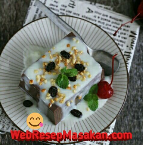 Puding Brownies Coklat, Puding brownies ncc, Resep Puding Brownies Coklat,