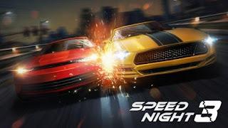 تحميل لعبة سباق السيارات في الليل للأندرويد مهكرة Speed_Night_3_v1.0.3