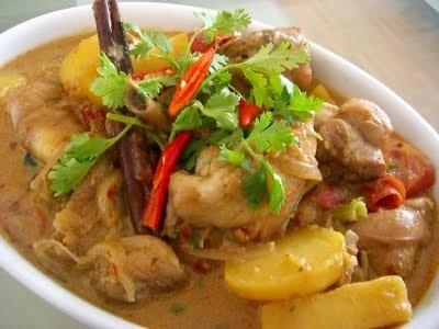 Resepi Ayam Masak Kurma | Malaysia Top Blogger