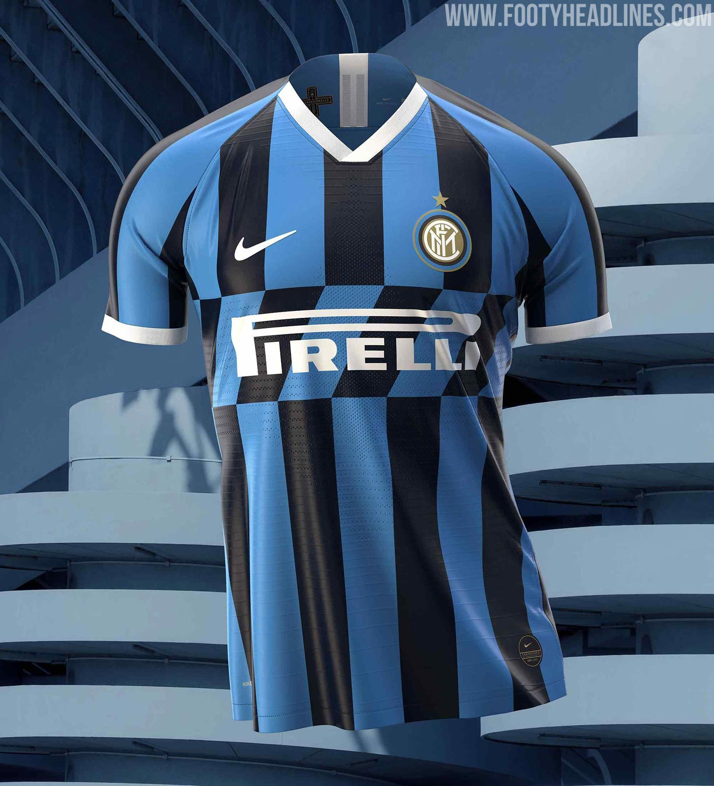 Inter Milan 19 20 Home Kit Revealed Footy Headlines