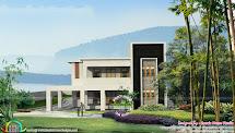 Flat Roof Modern House Plans