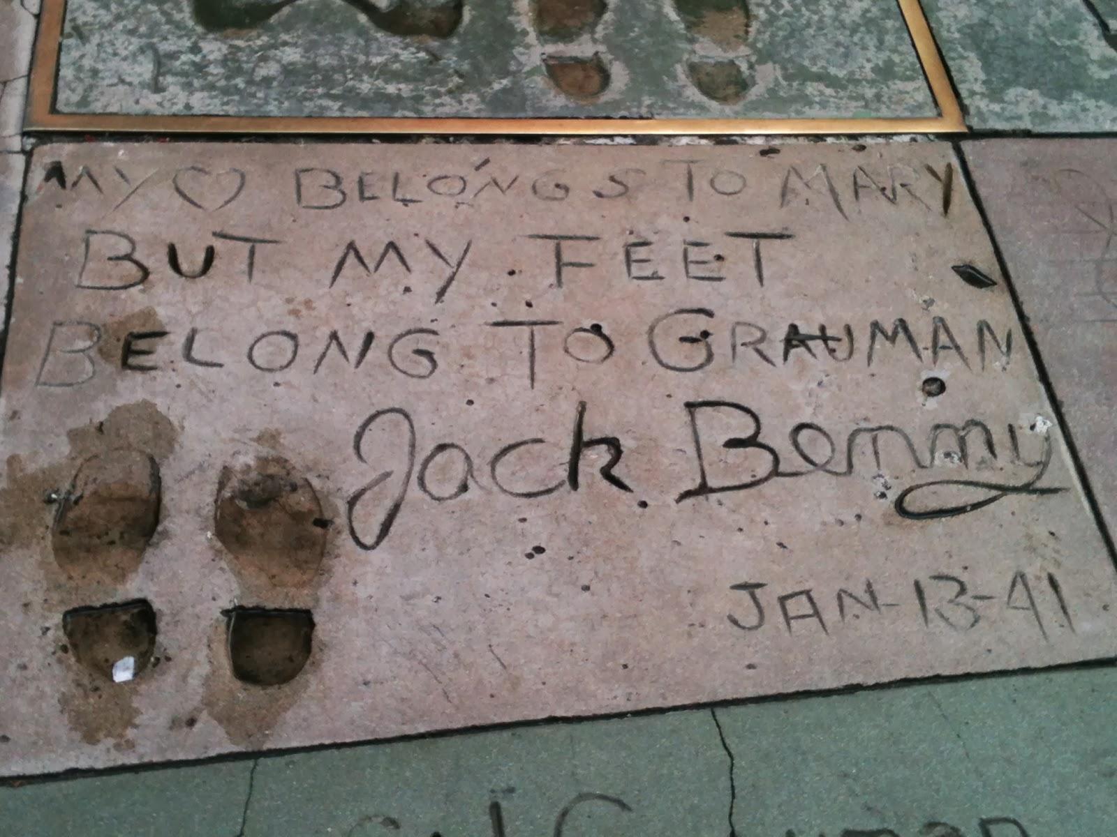 jack benny prints