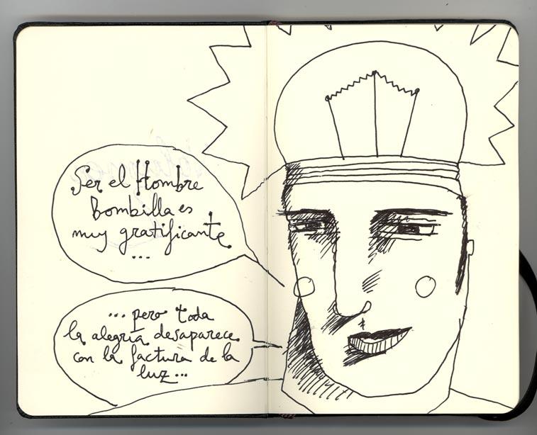 De Dibujo En Dibujo Estrenando Libreta: Carlos C. Laínez: El Dibujo De Hoy (090
