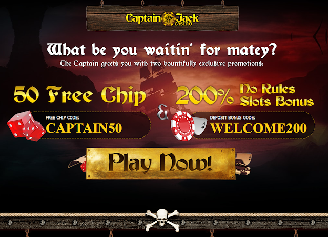 captain jack casino bonus