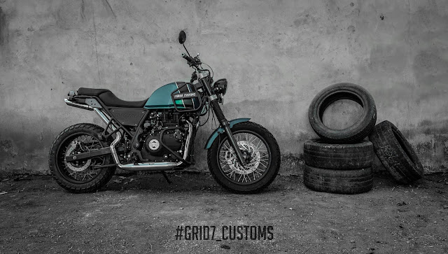 GRID7 Cutsoms Royal Enfield Himalayan