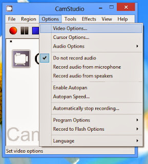 CamStudio: software perekam video pada screen