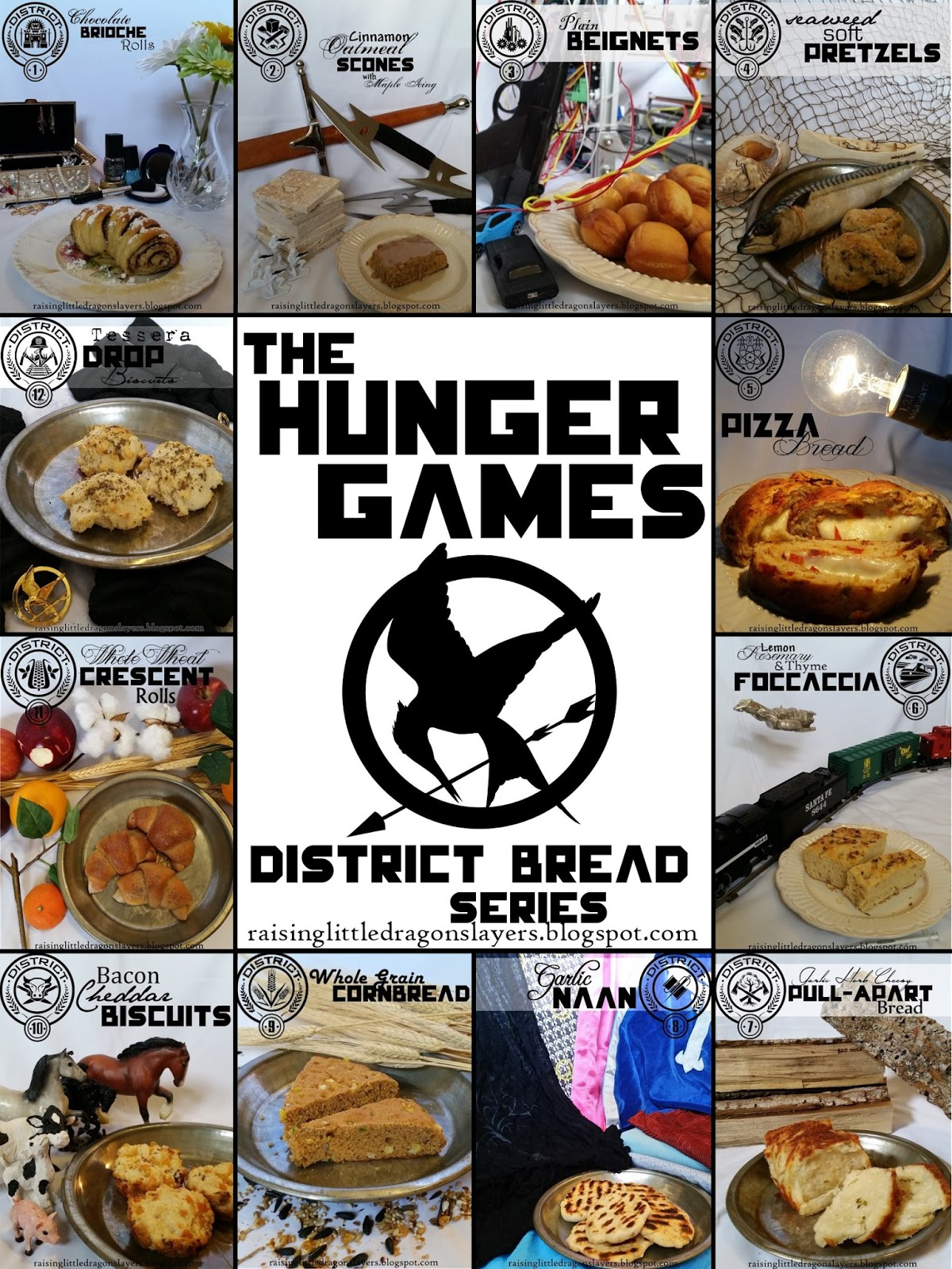 Raising Little Dragonslayers The Hunger Games District Bread Series