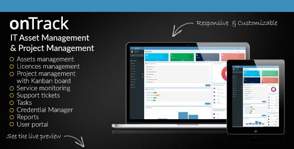 onTrack v1.14 – IT Asset Management & Project Management