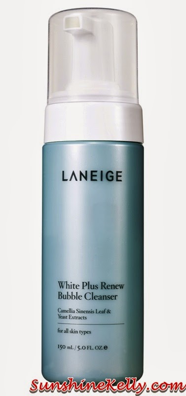 New Laneige White Plus Renew Range, laneige, Laneige White Plus Renew, bubble cleanser, korean skincare, korean beauty