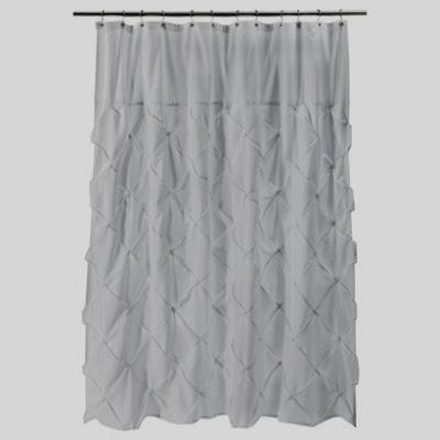 West Elm Pintuck Shower Curtain