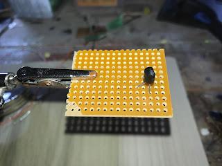 3904 transistor installed
