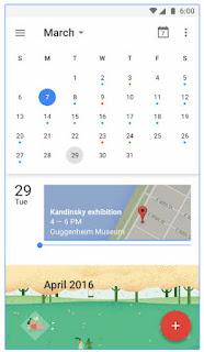 Aplikasi Kalender Android terbaik Google Calendar