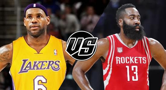 Live Streaming List: LA Lakers vs Houston Rockets 2018-2019 NBA Season