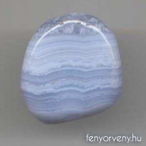 Kristálygyógyászat/Gyógyító kövek: Kalcedon (Kék csipkeachát)