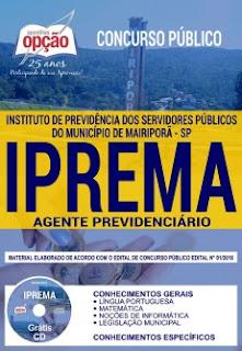 baixar Apostila IPREMA 2018 PDF - Agente Previdenciário