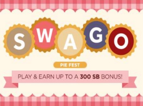 Swagbucks SWAGO Pie Fest