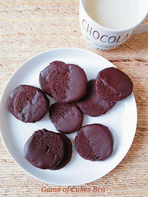 Galletas veganas de chocolate. Game of Cakes Bcn