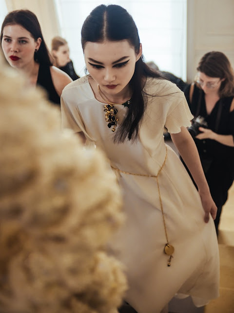 Christian Dior Haute Couture AW16 |  Photo Virginie Khateeb