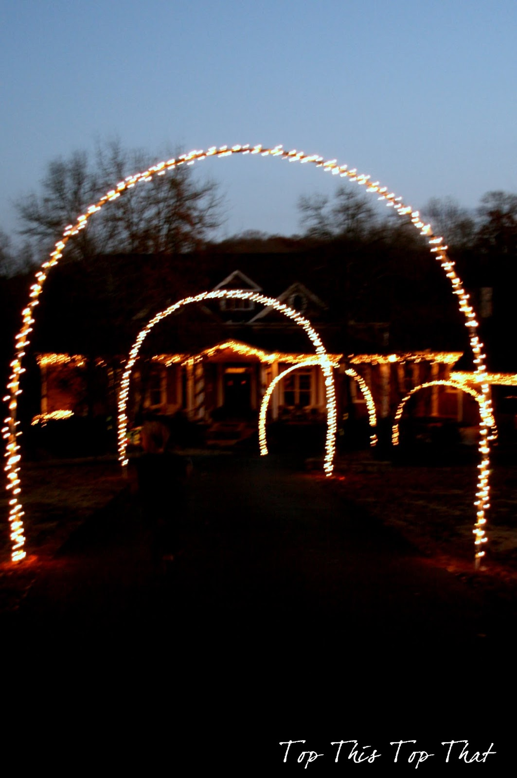 Driveway Christmas Arch Best Home Decorating Ideas