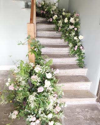 portaat koristelu häät