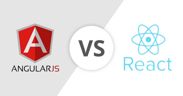 مقارنة شاملة بين Angular و React لمطوري الويب