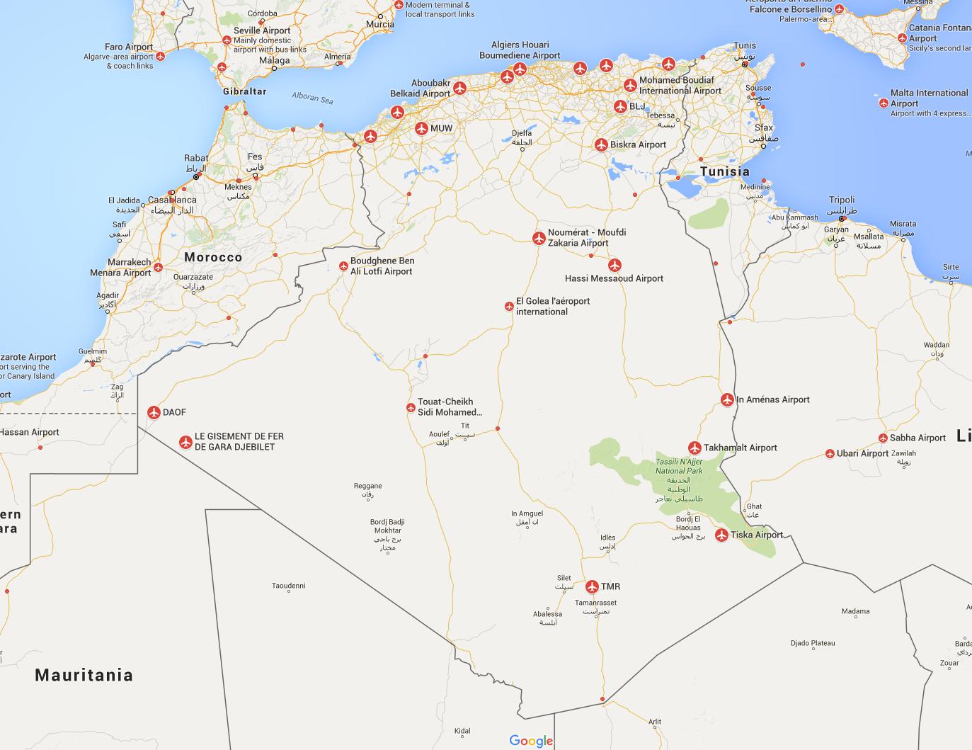 Algeria Airports