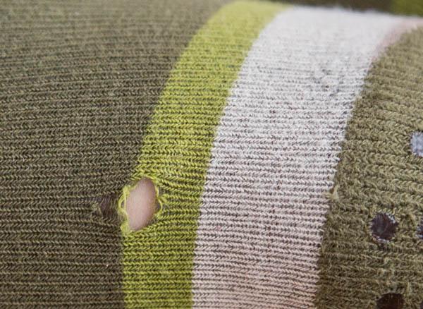 Puuvillasukkahousujen korjauksen lähtötilanne