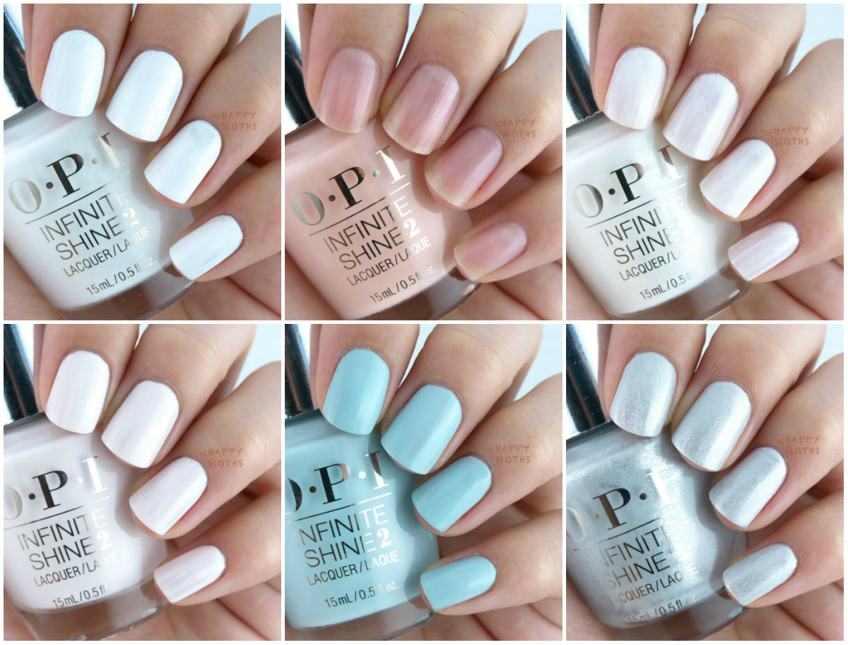 OPI Infinite Shine Lacquer Soft Shades Collection: Review and Swatches