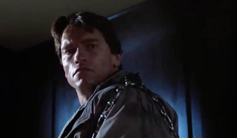 The Terminator Arnold Schwarzenegger 1984 original horror sci-fi action movie