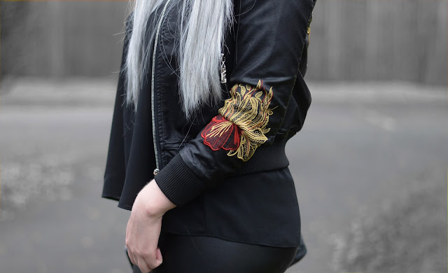 Sammi Jackson - Embroidered Bomber Jacket