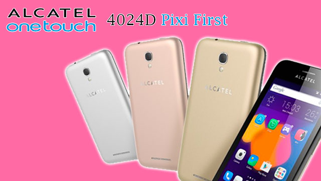 rom stock Alcatel OT Pixi First 4024D