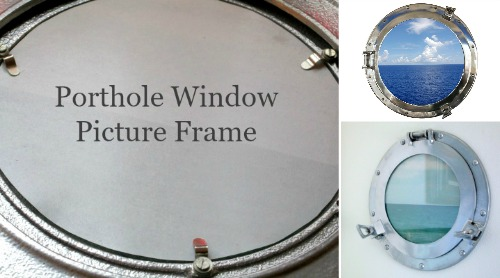 Using a Porthole Window as Picture Frame