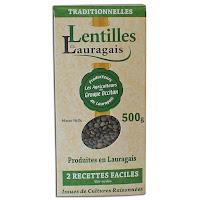 Lentilles vertes du Lauragais 500 g