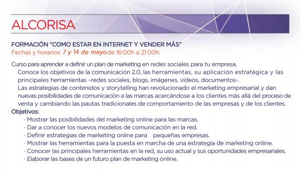formación CEOE Asociación Empresarial Alcorisa Teruel