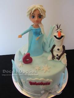bolos festas frozen disney bragança doces opções