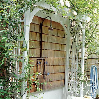 outdoor shower ideas rustic sinks