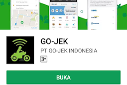 Cara Pesan Go-jek Go-ride Terbaru