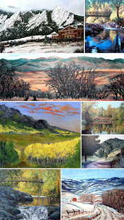 Colorado Landscape Paintings by Boulder artist Tom Roderick