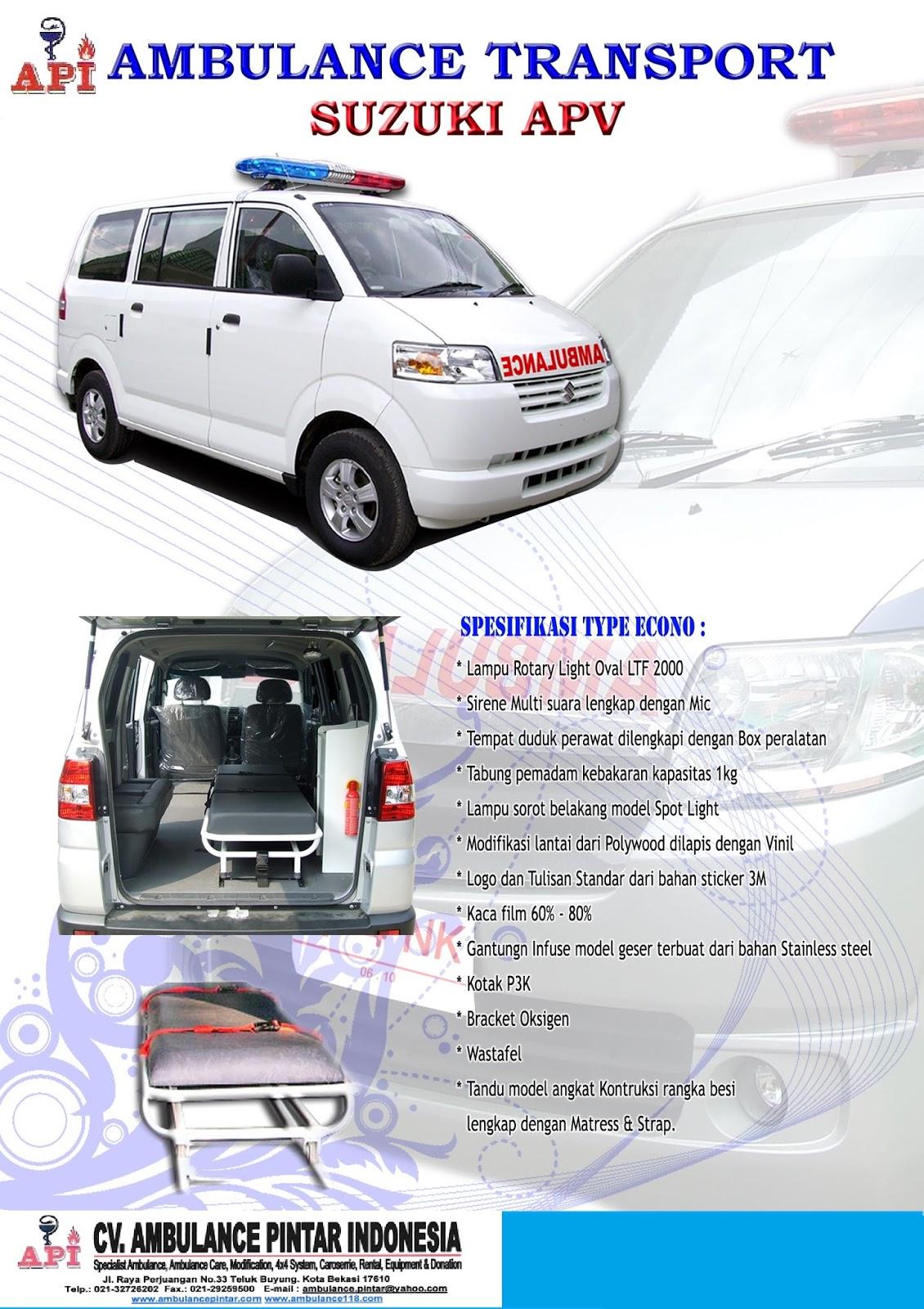 Tersedia Beragam Ambulance  Ambulance Daihatsu Luxio