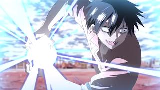 Bahkan Staz dapat merubah energinya menjadi Ka-me-ka-me-ha seperti Goku.