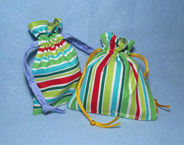 Christmas Gift Bags ~ Threading My Way